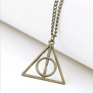 Jewelry - Harry Potter metal pendant necklace!